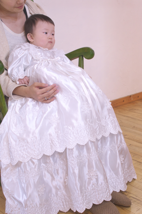 プリンセスドレスイメージ着用